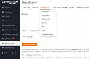 Cleverreach mit All-Inkl SSL-Zertifikat (per Let's Encrypt)
