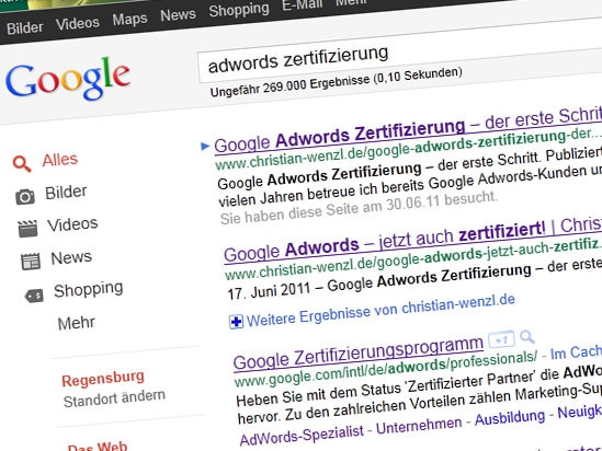 Google Adwords Certification Verification