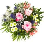 Produktfotografie mit Blumen für Gärtnerei mit Onlineversand