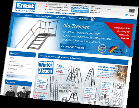 Onlineshop Agentur Niederbayern