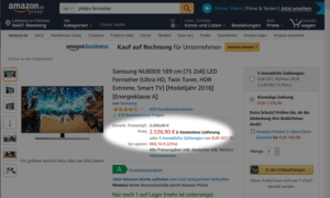 Streichpreise bei Amazon Sellercentral Update 2019